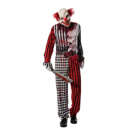Evil Clown Costume](Harlequin Clown Costume Plus Size)