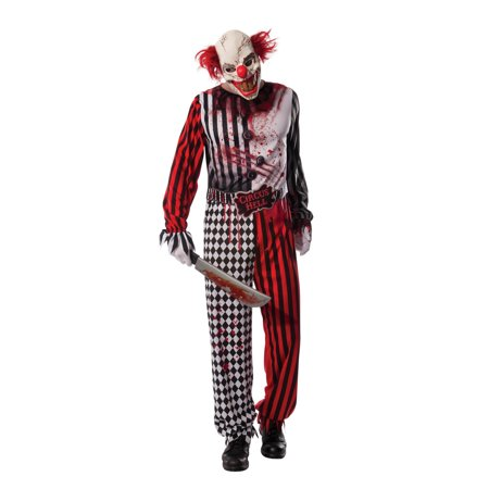 Evil Clown Costume - Crazy Clown Costume