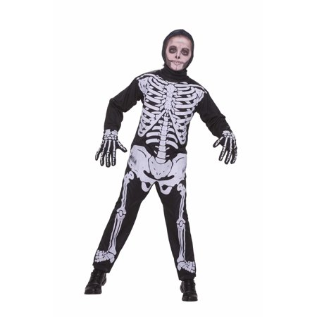 Halloween Child Skeleton Costume