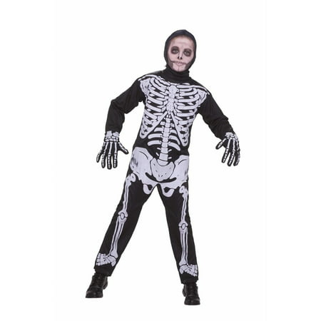 Halloween Child Skeleton Costume - Skeleboner Halloween