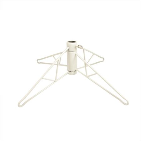 NorthLight White Metal Christmas Tree Stand For 6. 5 - 7. 5 ft. Artificial Trees