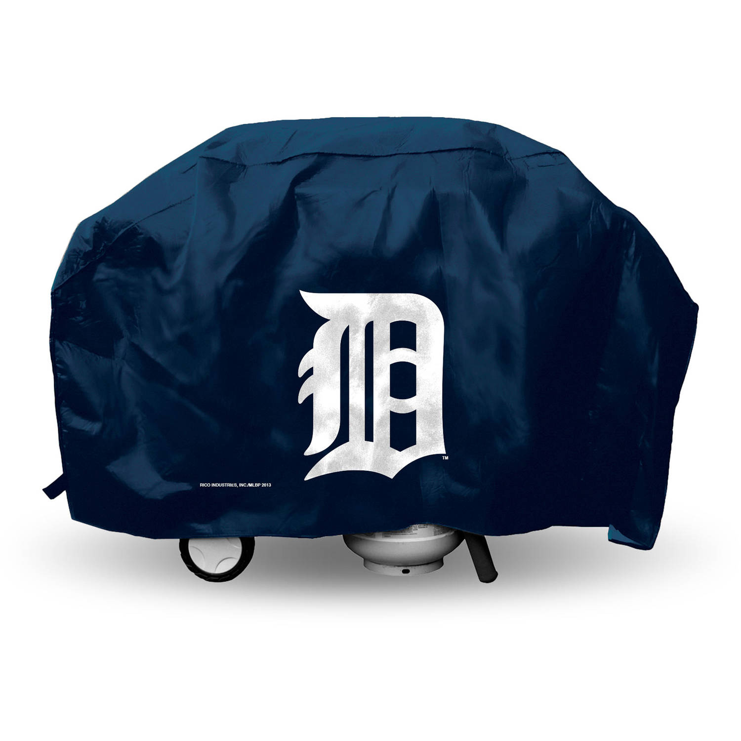 MLB Rico Industries Deluxe Grill Cover, Detroit Tigers