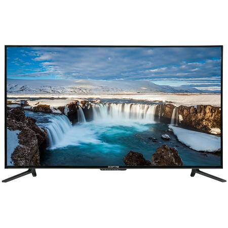 "Sceptre 55"" Class 4K (2160P) LED TV (U550CV-U) and Soundbar Bundle"