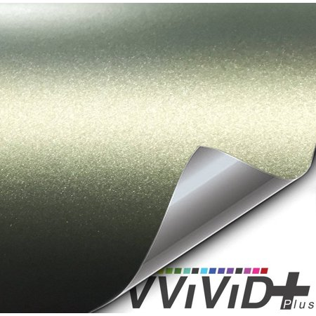 Matte Metallic Military Green (Ghost) Vinyl Sticker Architectural Vinyl Adhesive Tile Wall Decor Decal Car Wrap VViViD+
