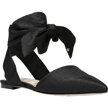 310d59a2c Sam Edelman - Women s Sam Edelman Brandie Ankle Tie Flat - Walmart.com