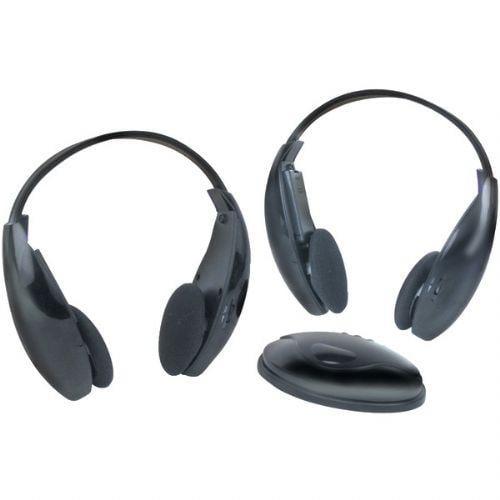 BOSS AUDIO HS-IR WIRELESS HEADPHONES WITH IR TRANSMITTER