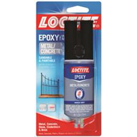 LOCTITE METAL AND CONCRETE EPOXY, 0.85 FL. - Premium Black Epoxy Finish