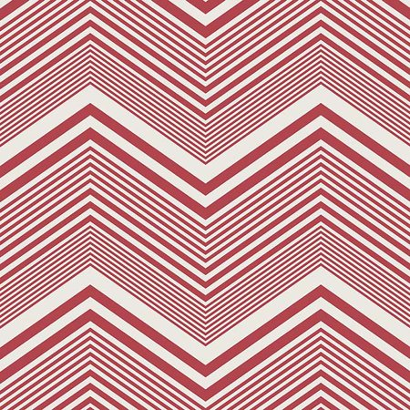#4 Chevron - Bella Red/White/Blue Single-Sided Cardstock 180gsm 12