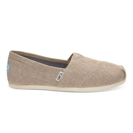 b37900beb8b TOMS - Toms 10009759  Metallic Woven Classic Women s Slip-On Shoes Pale Pink  (8.5 B(M) US Women s