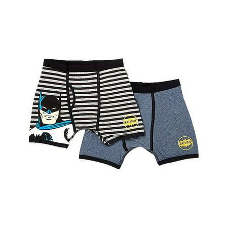 DC Comics 'Batman Superhero Underwear' Stripe Multipack Boxer Briefs