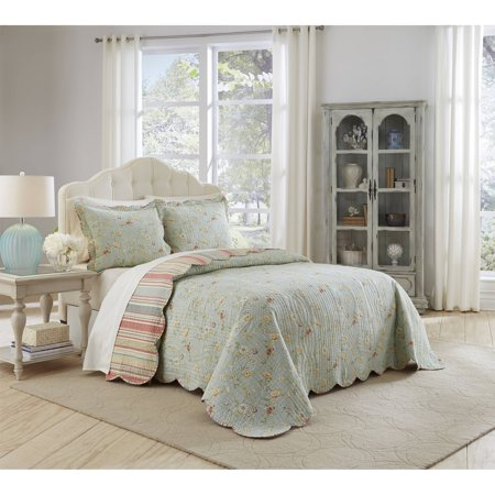 Waverly Garden Glitz 3-Piece Bedspread Collection