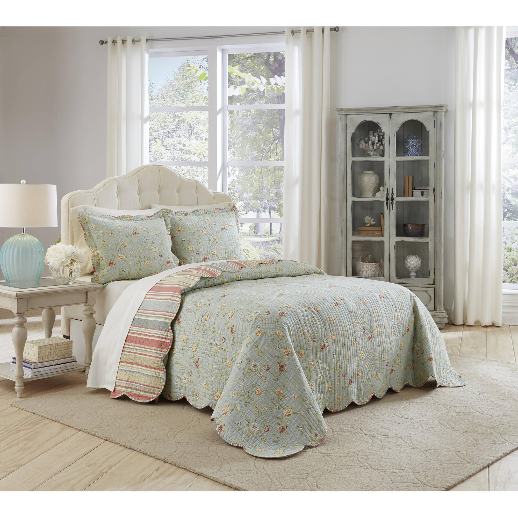Waverly Garden Glitz 3-Piece Bedspread Collection