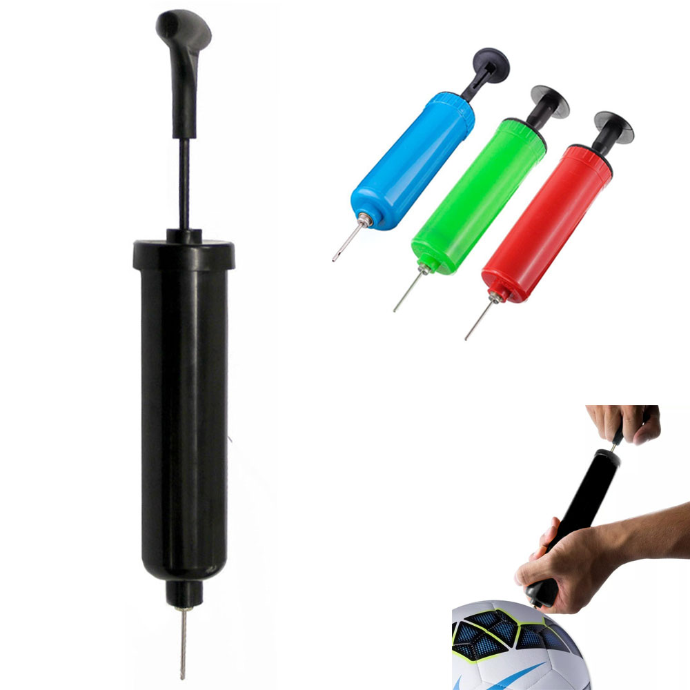12 Hand Air Pump Bicycle Basketball Football Soccer Ball Needle Sports Balls New