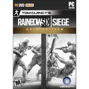 Tom Clancy's Rainbow Six Siege Gold Edition, Ubisoft, PC, 887256009922