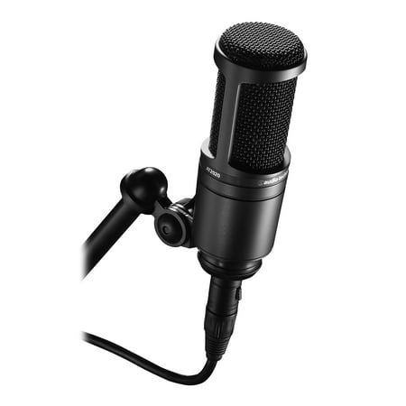 Audio Technica AT2020 Side Address Studio Mic Audio Technica Recording Package