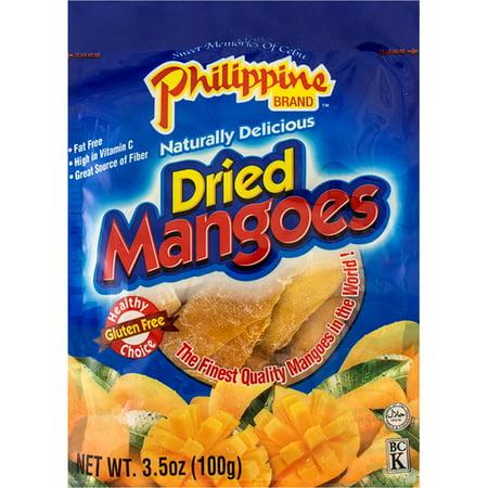 Philippine Brand Dried Mangoes  3 5 Oz