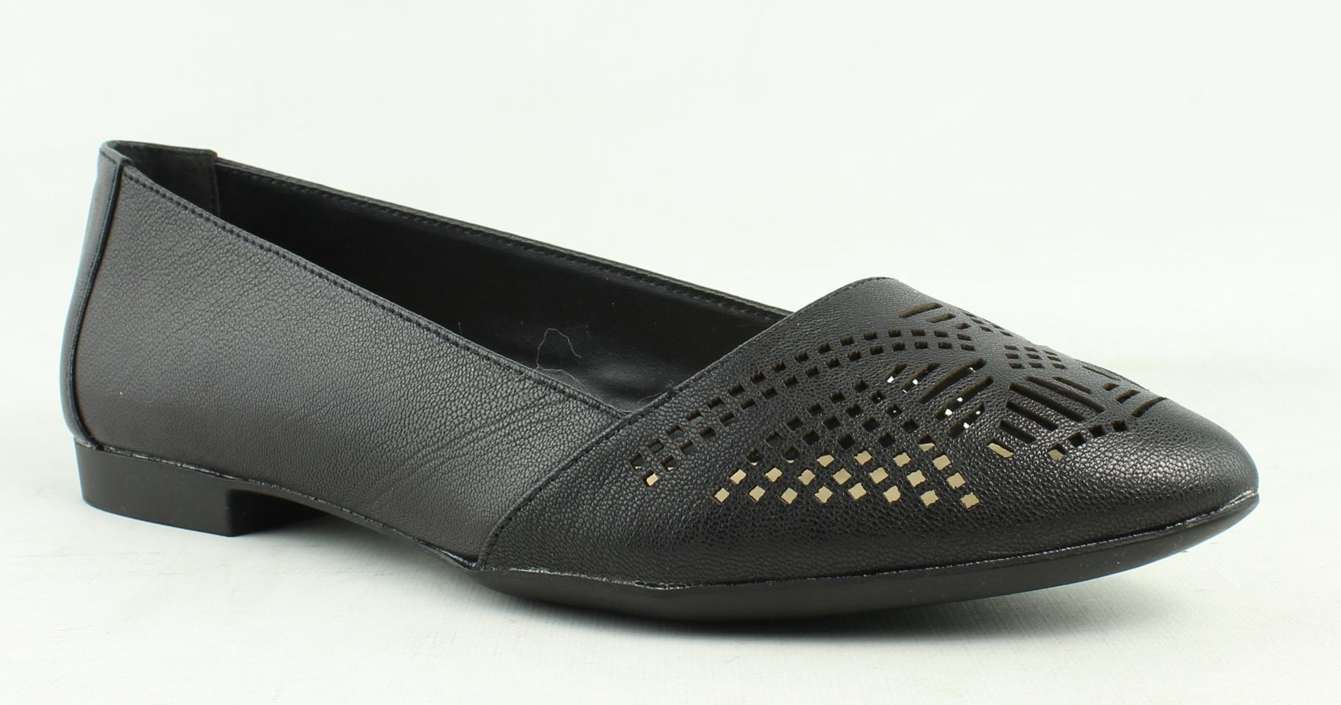 Bella Vita Womens Black Loafer Flats Size 6 New by Bella Vita