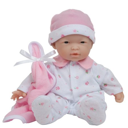 La Baby Asian�Pink 11 inch - Play Doll by JC Toys (Asian Play Dolls)