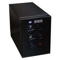 Koolatron 6 Bottle Thermoelectric Wine Cooler with Digital Temperature Controls