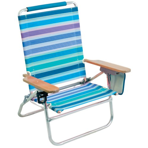 Mainstays Easy Out Strap Chair, Blue
