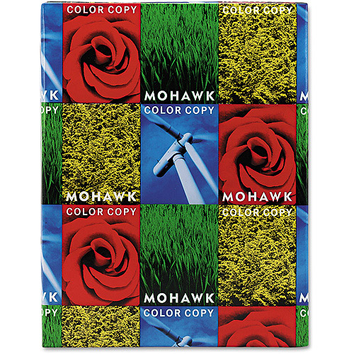 "Mohawk Color Copy Gloss Cover Paper, 8-1/2"" x 11"", 250 Sheets"