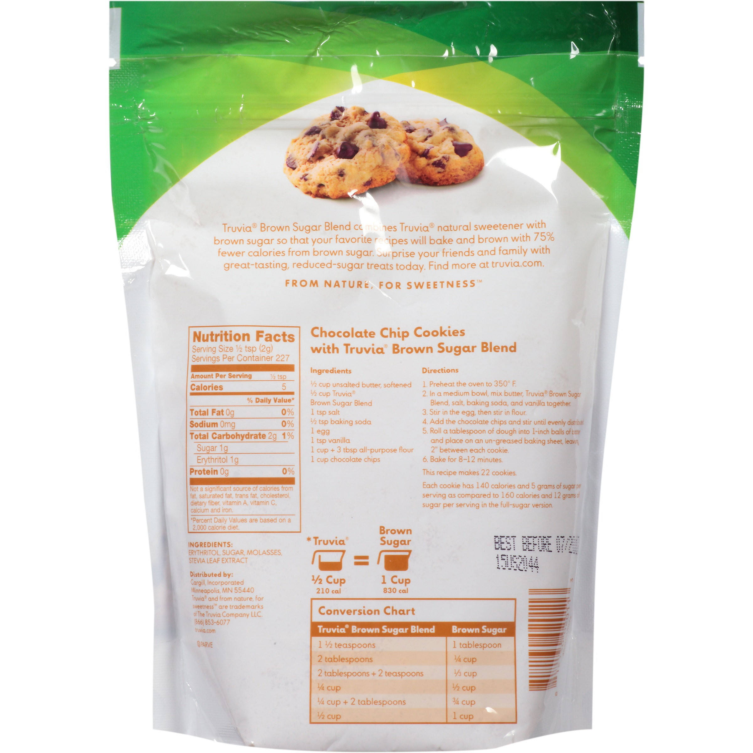 Truvia Brown Sugar Blend 10 Lb Bag Walmart