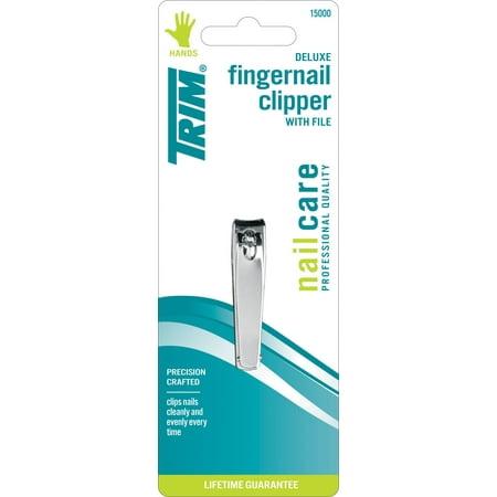 Trim Nail Clipper Deluxe avec fichier