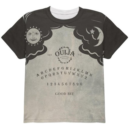 Halloween Ouija Board Costume All Over Youth T Shirt](Halloween Beard Ideas)