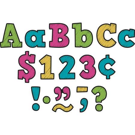 3IN CHALKBOARD BRIGHTS LETTERS - Chalkboard Letters