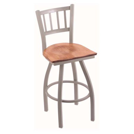 Astounding Holland Bar Stool Contessa 36 In Extra Tall Swivel Bar Stool With Wood Seat Uwap Interior Chair Design Uwaporg