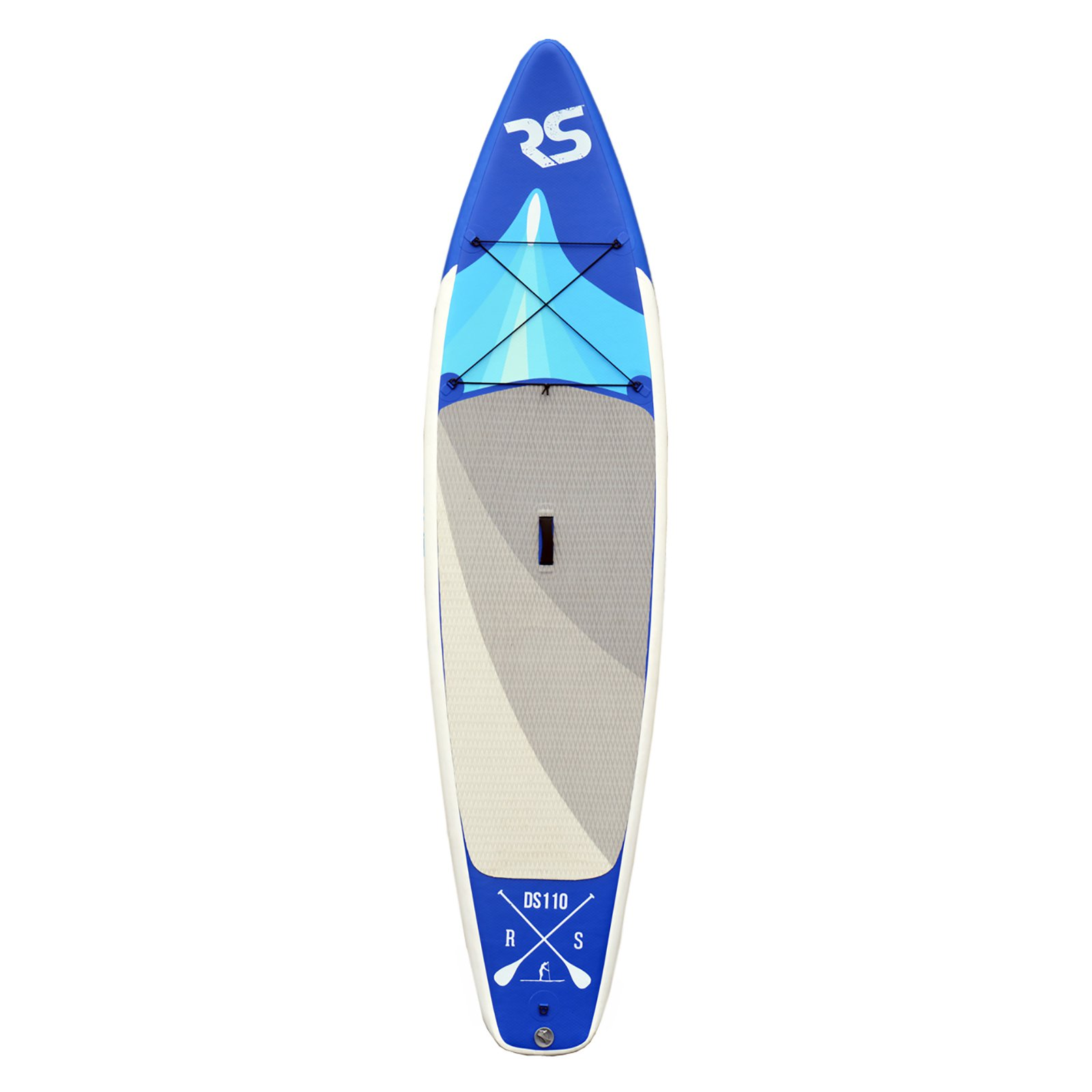 Rave Sports Nomad 6 in. Inflatable Stand Up Paddle Board by Rave Sports
