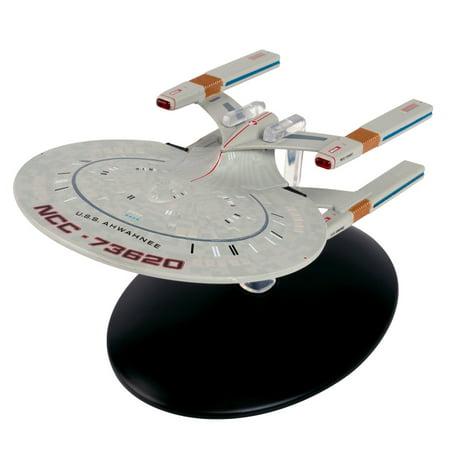 Star Trek Cheyenne Class Starship Model with Magazine #108 by Eaglemoss - Shopping Magazine