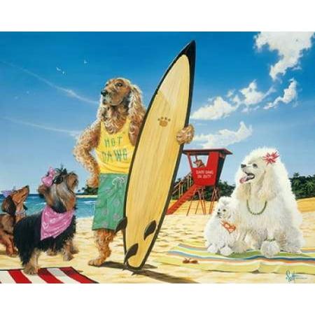 Posterazzi Hot Dawg Canvas Art - Scott Westmoreland (24 x 30)