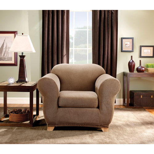 Sure Fit Stretch Stripe Chair Slipcover