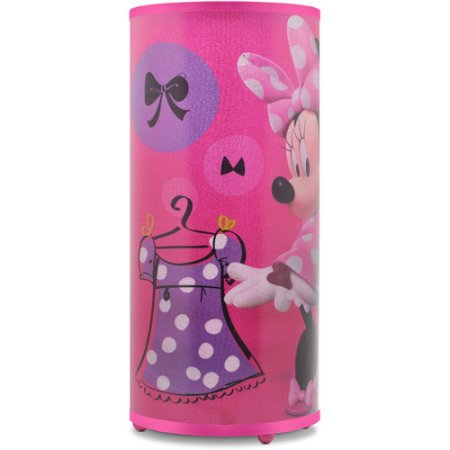 disney minnie mouse light up glitter table lamp best. Black Bedroom Furniture Sets. Home Design Ideas