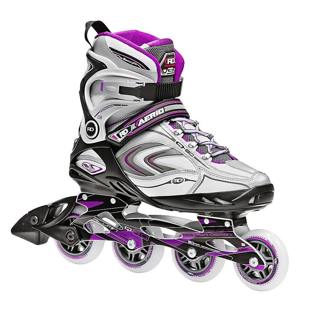 Roller Derby Skate Corp AERIO Q-80 Inline Women's Skates, Purple by Generic