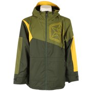Sessions Decon Colorblock Snowboard Jacket Olive Mens