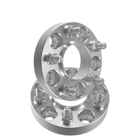 2pcs 32mm 5x100 Hubcentric Wheel Spacers Adapters | T6 6061 Billet | 12x1.5 Studs | 57.1mm Hub Bore