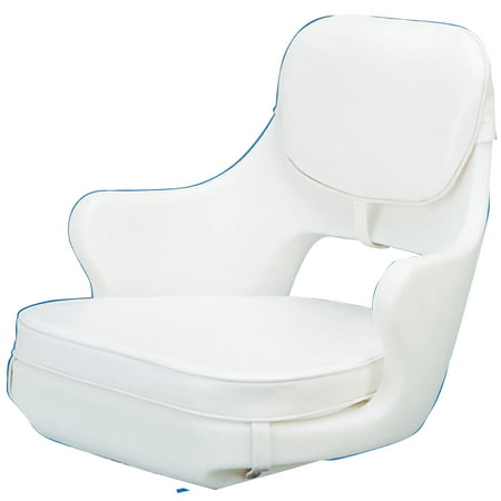 Todd 85-1538 Chesapeake Model 500 White Boat Helm Seat Chair Todd Marine Chairs