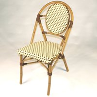 Infinita French Bistro Patio Dining Chair - Set of 6