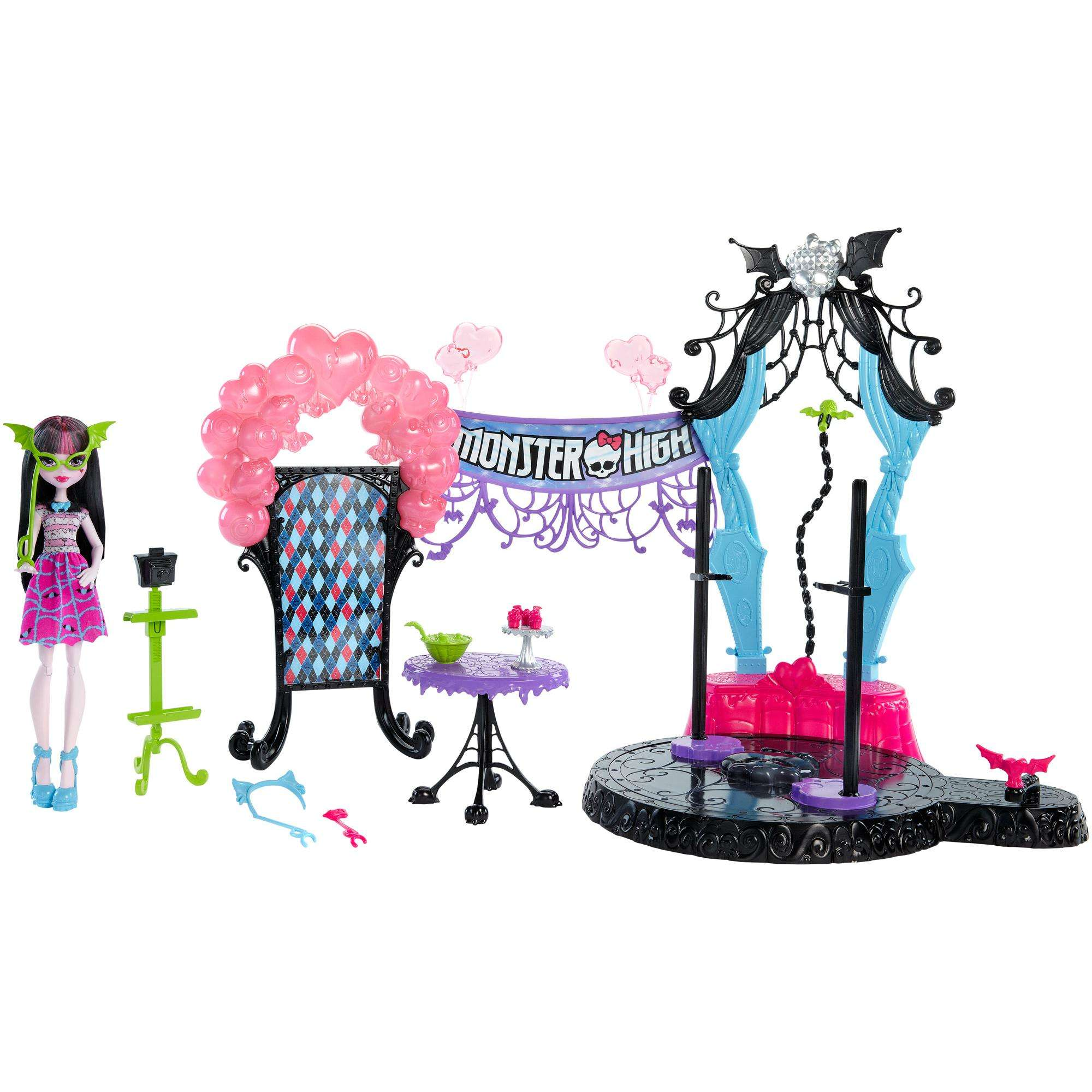 Monster High Welcome to Monster High Dance the Fright Away Playset by MATTEL INC.