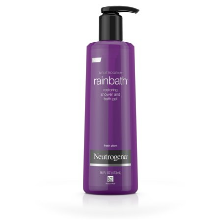 Neutrogena Rainbath Shower and Bath Gel, Fresh Plum and Floral Scent, 16 fl. oz