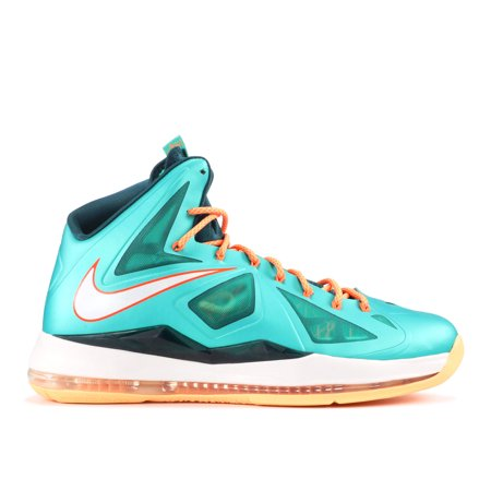 Nike - Men - Lebron 10 'Miami Dolphins' - 541100-302 - Size 8.5 - image 1 de 2