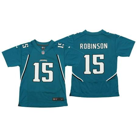 a323d77b Nike NFL Youth Jacksonville Jaguars Allen Robinson #15 Player Jersey, Teal