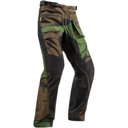 Thor Terrain Gear Camo Mens Over the Boot MX Offroad Pants Green