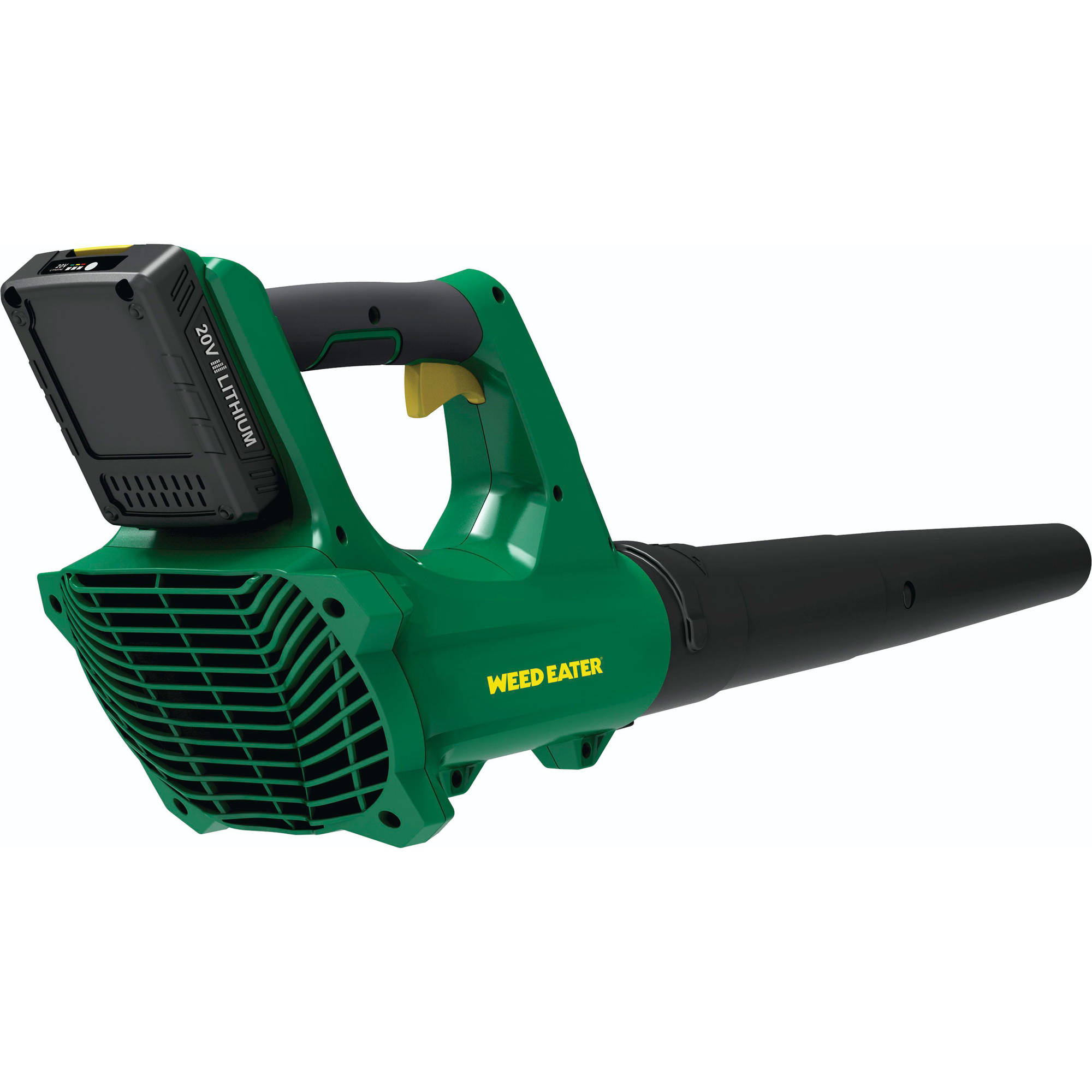Weed Eater WE20VB 85 MPH 20V Lithium-Ion Rechargeable Battery Powered Blower/Sweeper