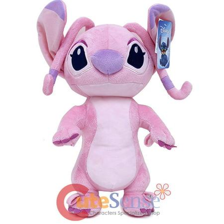 Disney Lilo And Stitch Angel Plush Doll Pink 16 Soft Toy Cushion
