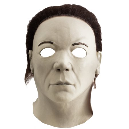 Halloween 8 Resurrection Full Adult Costume Mask Michael Myers](Michael Myers Halloween 8 Mask)