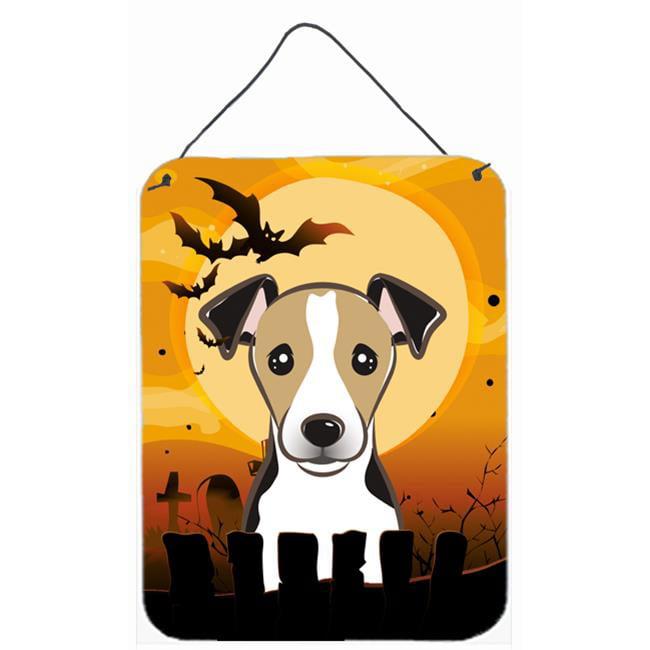 Carolines Treasures BB1819DS1216 Halloween Jack Russell Terrier Wall and Door Hanging Prints - image 1 de 1
