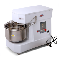 Hakka Commercial Dough Mixers 10 Quart Stainless Steel Spiral Mixer-DN10(110V/60Hz,1 Phase)